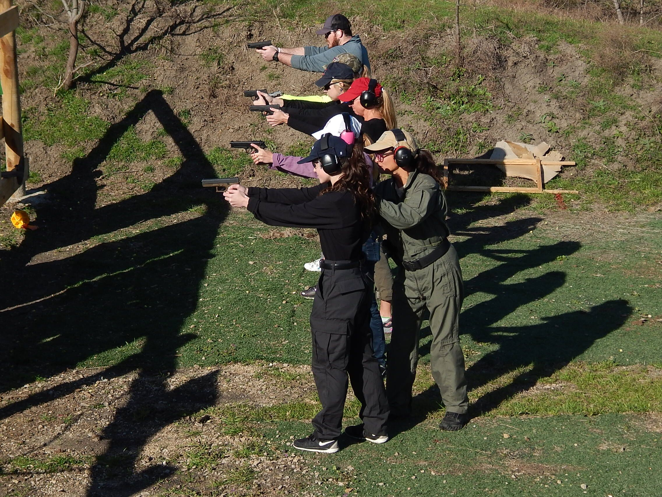 Strap On Your Holsters And Sight In Those Guns This Class Combines